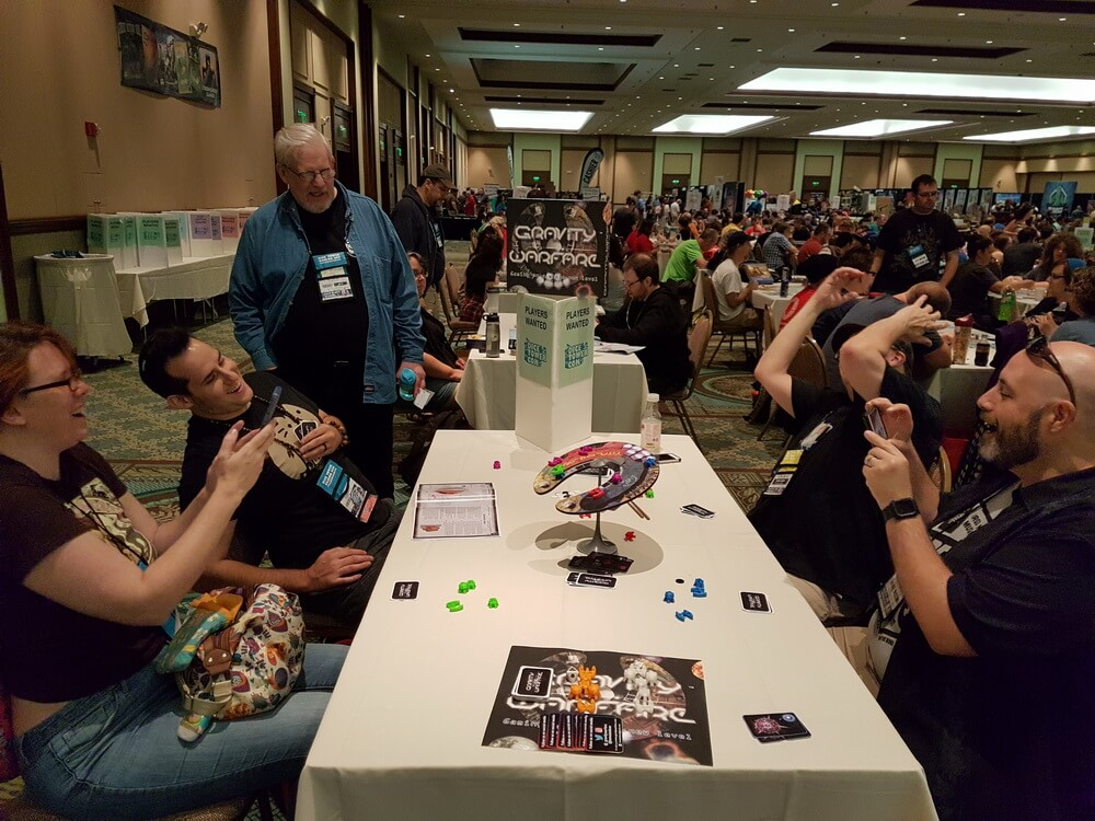 The moment when everything falls after so much work. Dice Tower Con 2017